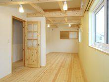 森の家 パッシブハウス 子供部屋 可変性のある間取り