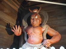 11 仁王門・金剛力士像